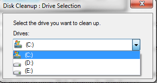 disk-cleanup-drive-selection