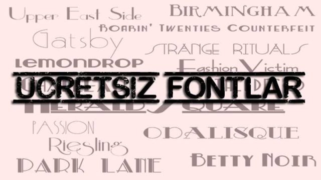 En iyi Fontlar