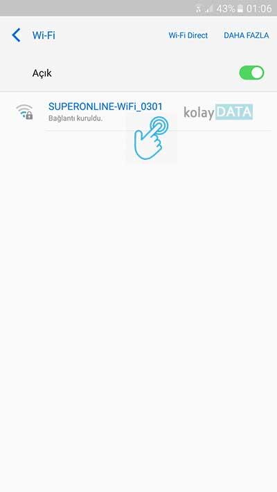 Android DNS Değiştirme 3