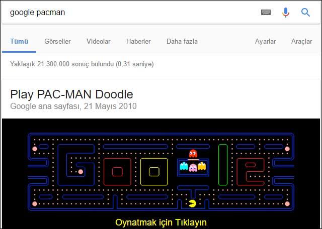 Gizli-Google-Oyunları