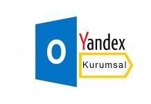 Outlook Yandex Kurumsal Mail Kurulumu