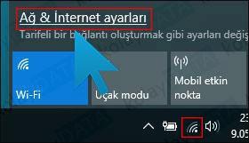 Unutulan Wi-Fi Şifresini Bulma