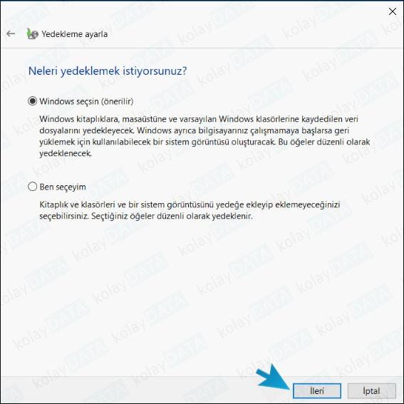 Windows 10 Yedekleme Nasıl Yapılır