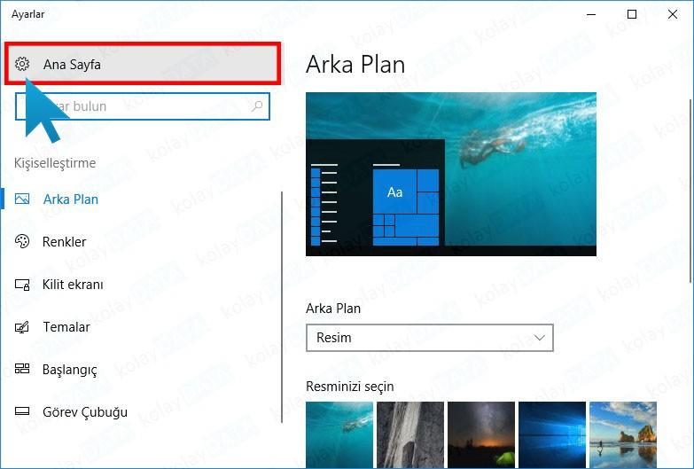 Windows 10 Varsayılan Tarayıcı Değiştirme