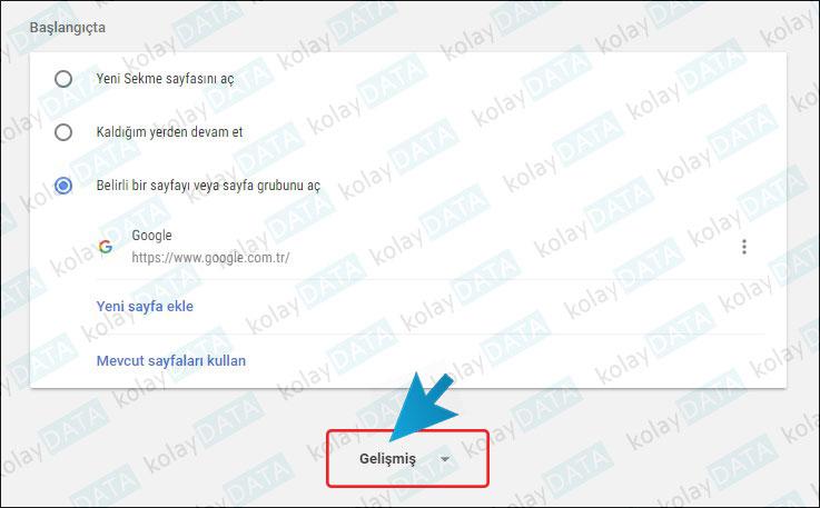 Google Chrome Bildirimleri Kapatmak