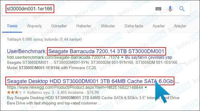 Bilgisayarımda SSD veya M2 Disk Var mı