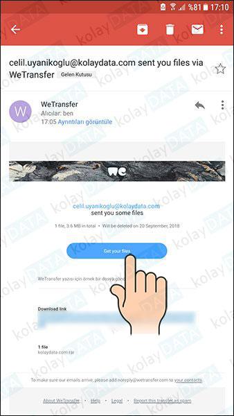 WeTranser Nedir? Nasıl Kullanılır