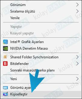 Windows 10 Wallpaper Otomatik Değiştirme