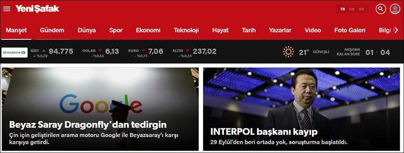 En Çok Ziyaret Edilen Haber Siteleri