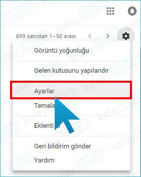 Gmail İmza Ekleme