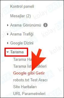 google gibi getir nedir