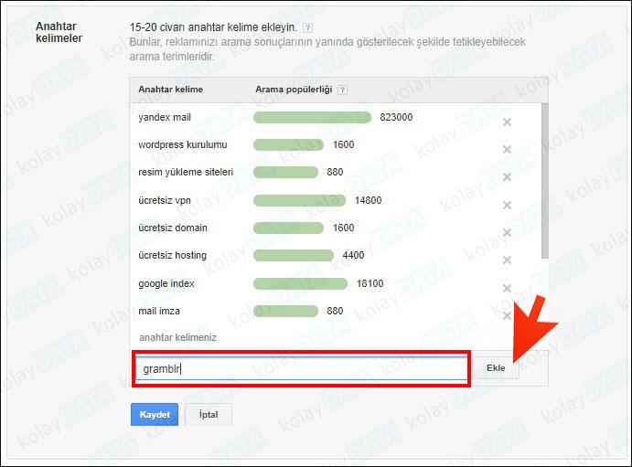 google da reklam ver