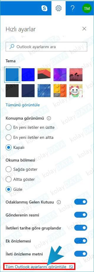 hotmail outlook imza ekleme değiştirme