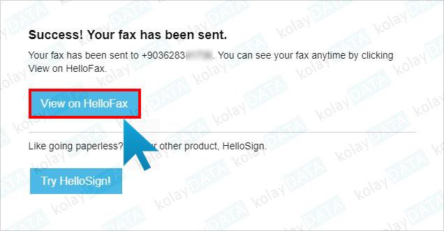 internetten fax gönderme