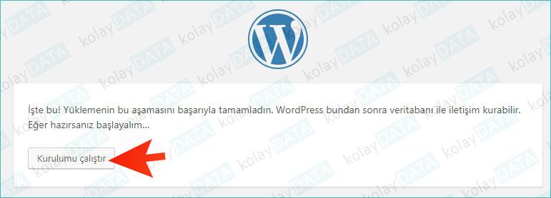 wordpress kurmak
