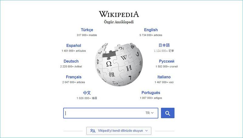 En Çok Ziyaret Edilen İnternet Siteleri