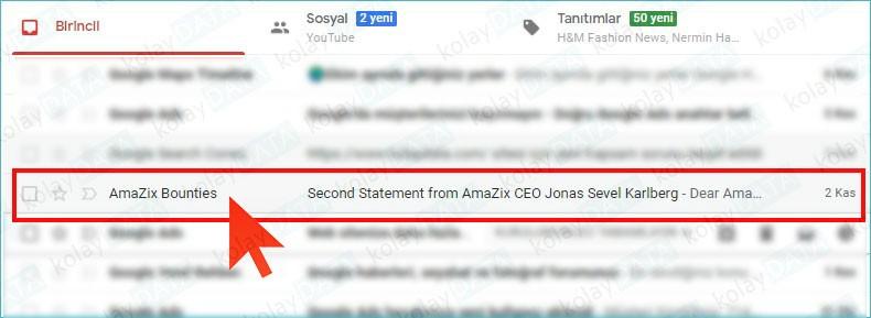 Gmail'de İstenmeyen E-Mailleri Engelleme