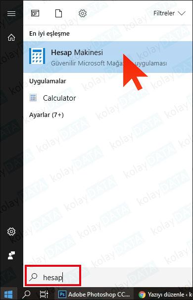 Windows 10 ile Para Birimi Dönüştürme