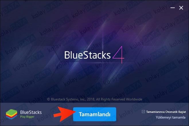 BlueStacks Emulator Kurulumu