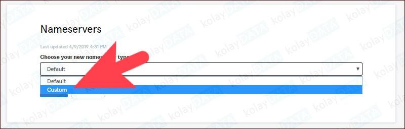 GoDaddy DNS Değiştirme
