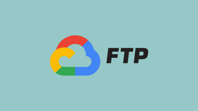 Google Cloud FTP filezilla