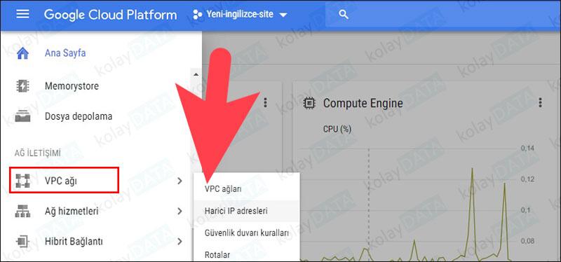 Google Cloud Sanal Makinesine Statik IP Vermek