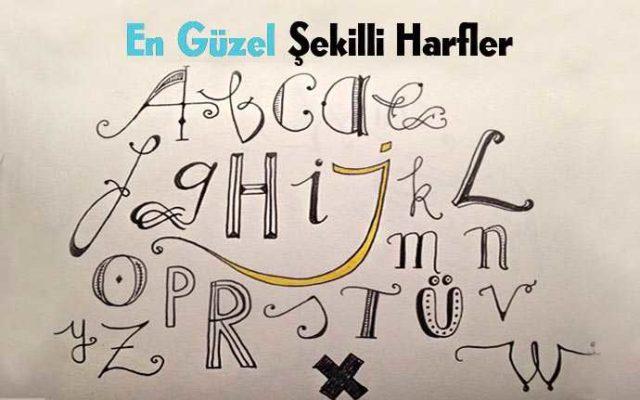 şekilli-harf