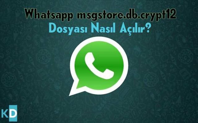 Whatsapp-msgstore.db.crypt12