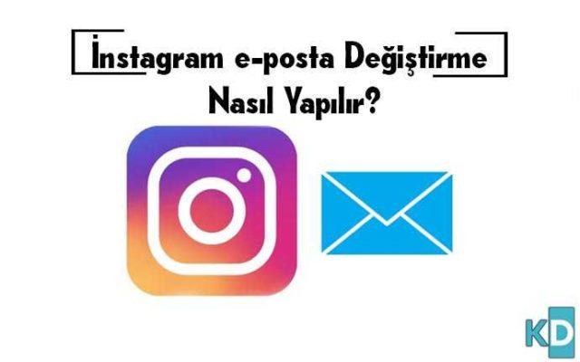 instagram-E-Posta-Değiştirme
