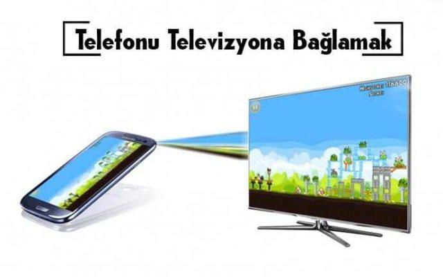 telefonu wifi ile televizyona bağlamak